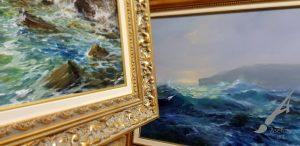 Авторски маслени картини - морски пейзаж