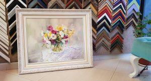 Натюрморт с цветя и ваза от Александър Асенов