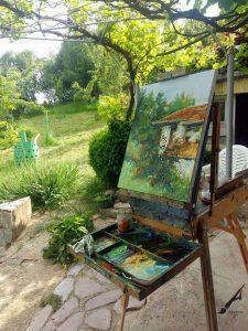 Пейзаж - Каменица от Александър Асенов