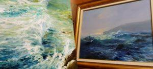 Морски пейзажи от Александър Асенов