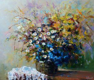 Натюрморт-с-полски-цветя