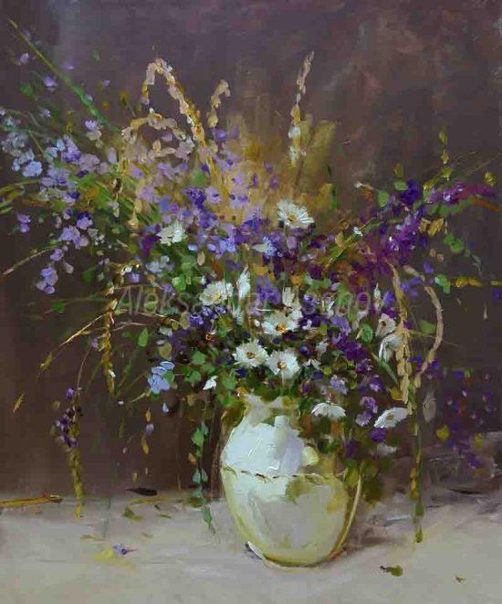 Натюрморт с цветя - номер 8 - натюрморт от Александър Асенов
