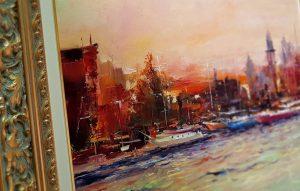 Авторски маслени картини - Амстердам