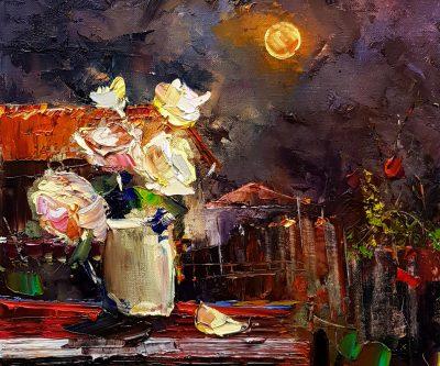 Натюрморт на лунна светлина